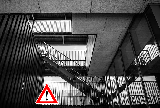 Staircase---caution