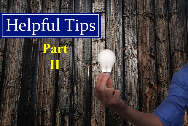 Helpful Tips for Home Inspectors Part 2